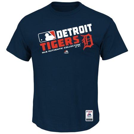 Detroit Tigers Majestic Team Choice T-Shirt - Navy
