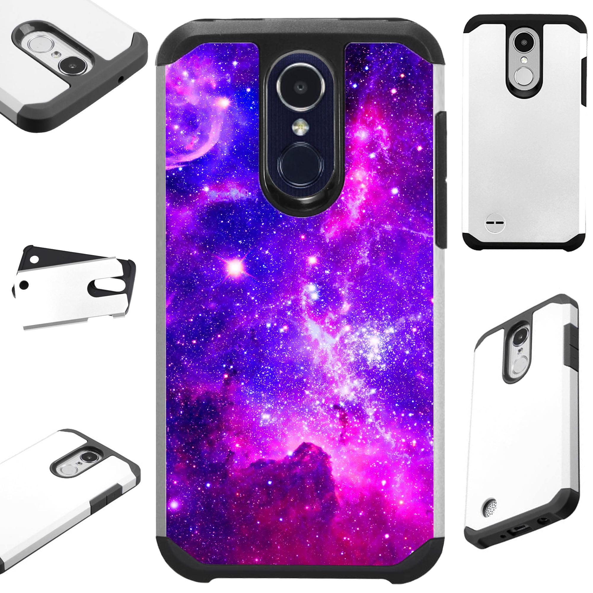 FusionGuard Phone Case Cover For LG K30 X410 | K10 (2018) | K10 Plus | K10 Alpha (Purple Universe)