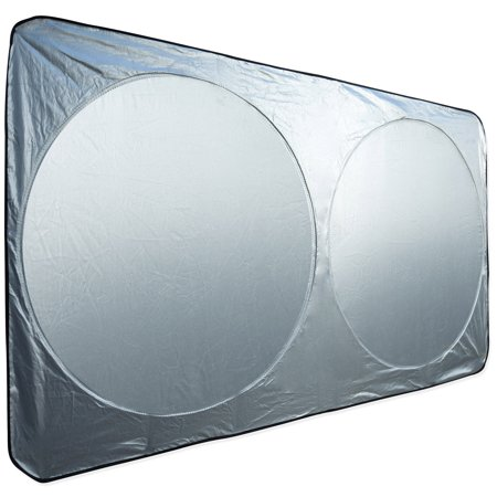 oxgord auto car sunshade foldable windshield sun shade visor for heat block wind shield screen. Black Bedroom Furniture Sets. Home Design Ideas