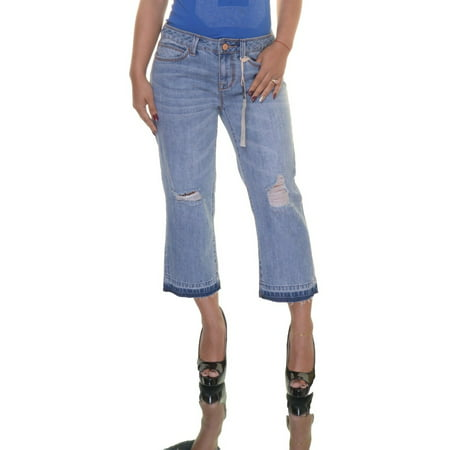 American Rag Mid Rise Crop Jeans Size -