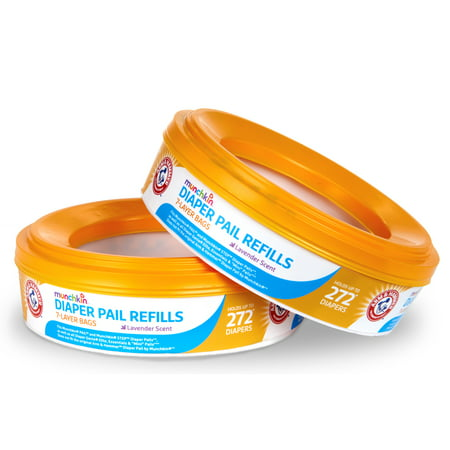 Munchkin Arm & Hammer Diaper Pail Refill Ring - 544 Count - 2 Pack - image 5 of 5