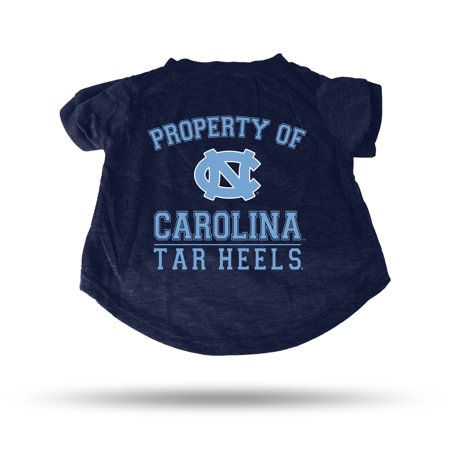 North Carolina Tar Heels Sparo Pet T-Shirt - Blue (Tar Heel Blue)