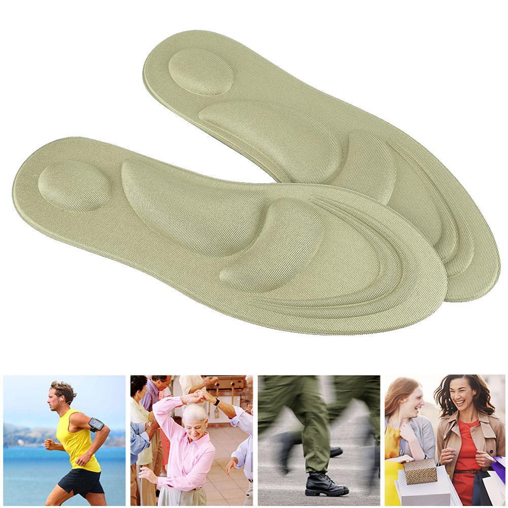 Orthotic Shoes Insoles Memory Foam Sport Support Insert Women Men Feet Soles Pad