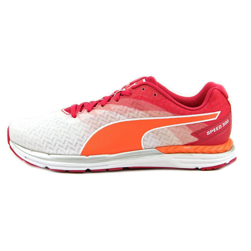 Puma Speed 300 Ignite    Round Toe Canvas  Running Shoe