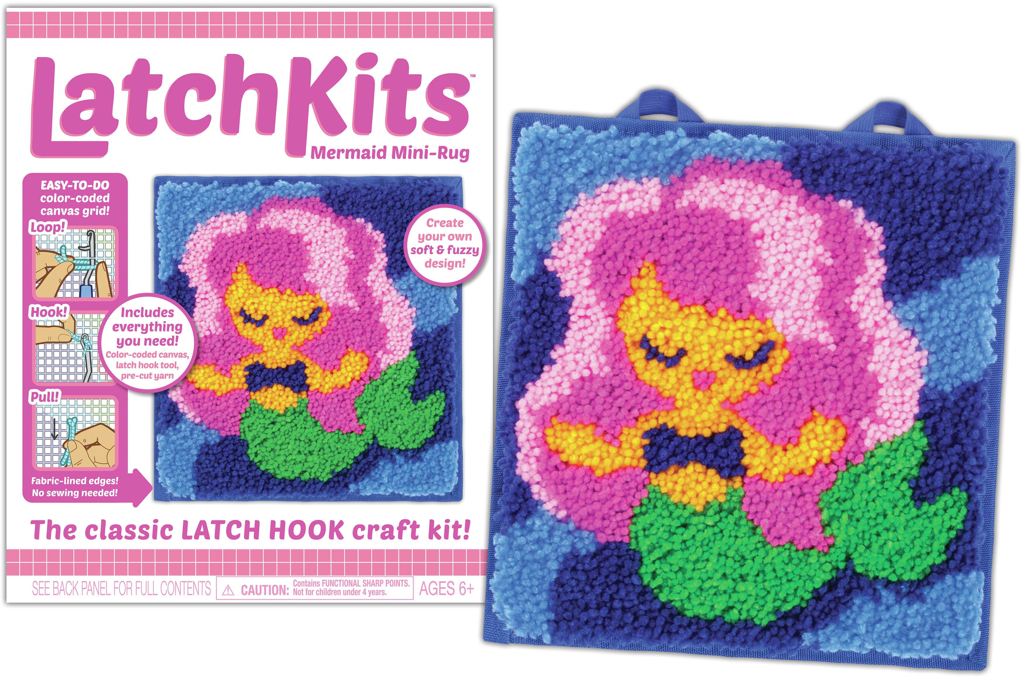 Latch Kit Mini Rug Mermaid Walmart Com Walmart Com