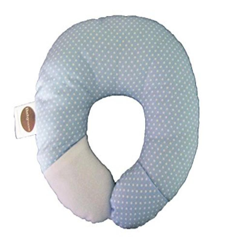 Babymoon Pod Infant Head & Neck Support (Blue Dot) by BabyMoon Pillow