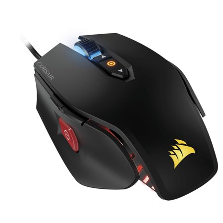 Corsair M65 Pro RGB USB Wired Gaming Mouse Black (Corsair M65 Vengeance Usb Wired Laser Gaming Mouse)
