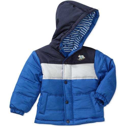 Child of Mine by Carters Newborn Boys' Hooded Stripe Jacket