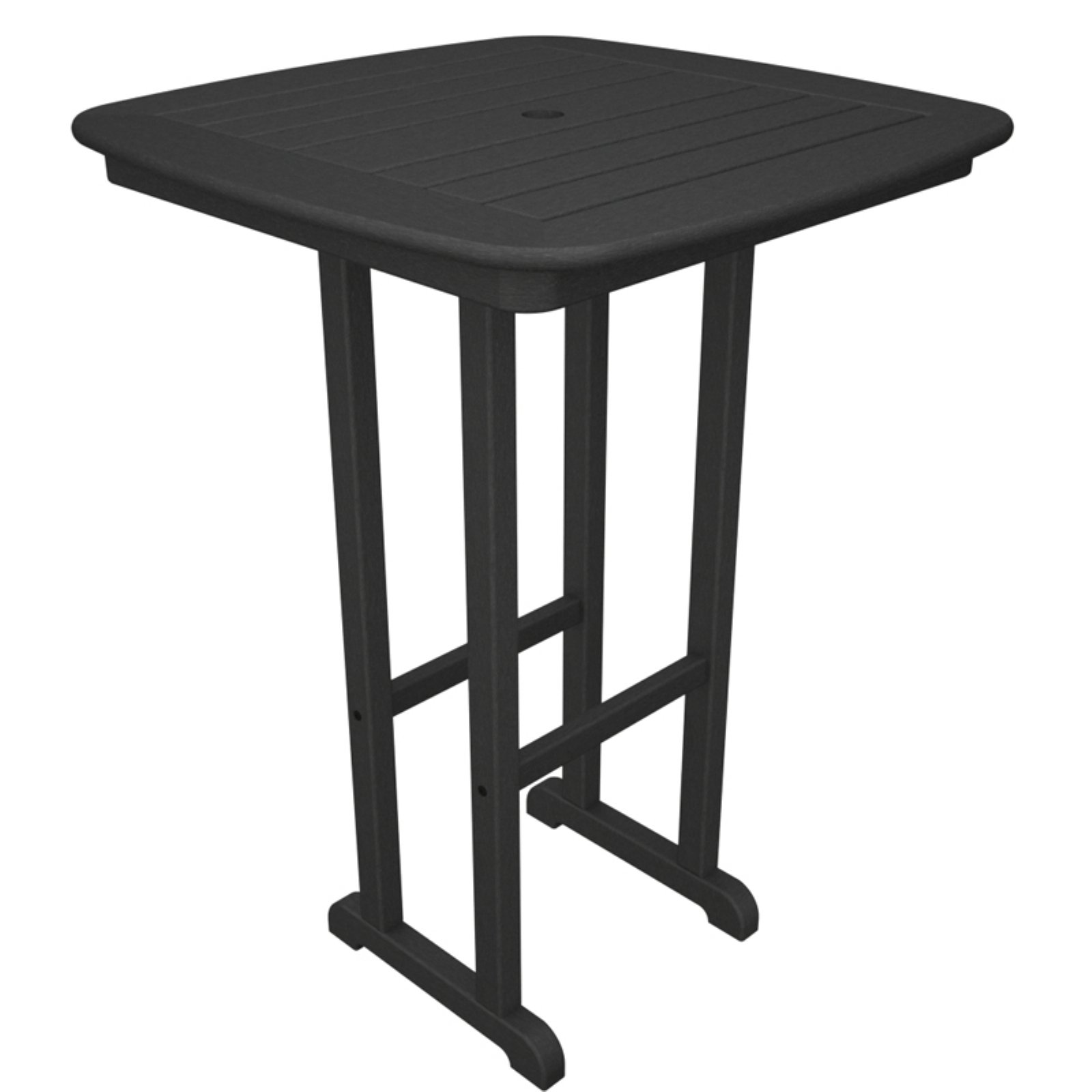 POLYWOOD® Nautical 31 in. Bar Height Recycled Plastic Table