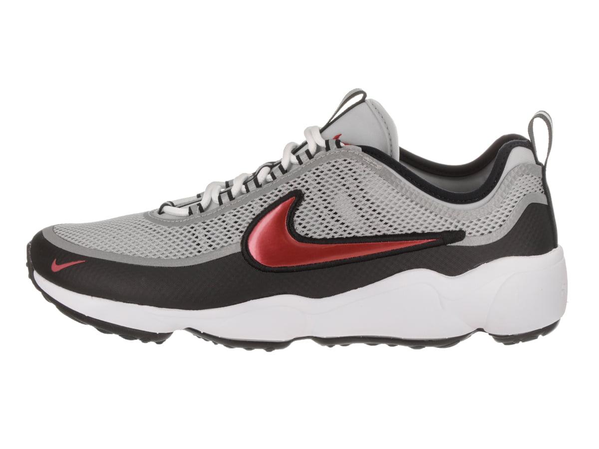 Mens Nike Air Zoom Spiridon Ultra OG Metallic Silver Black White Deser