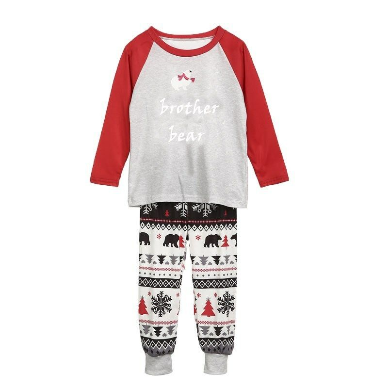 Family Christmas Pajamas Pjs Matching Baby Kids Adult Xmas Nightwear Sleepwear
