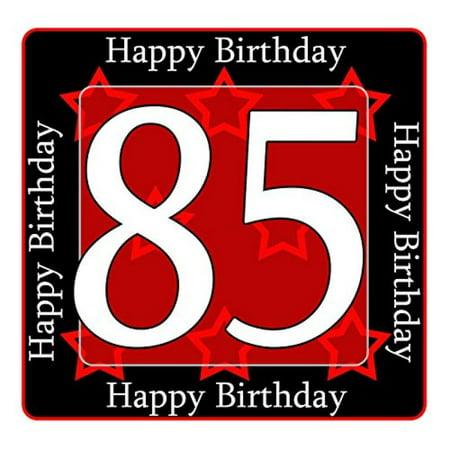85th Birthday Coaster 12 Ct