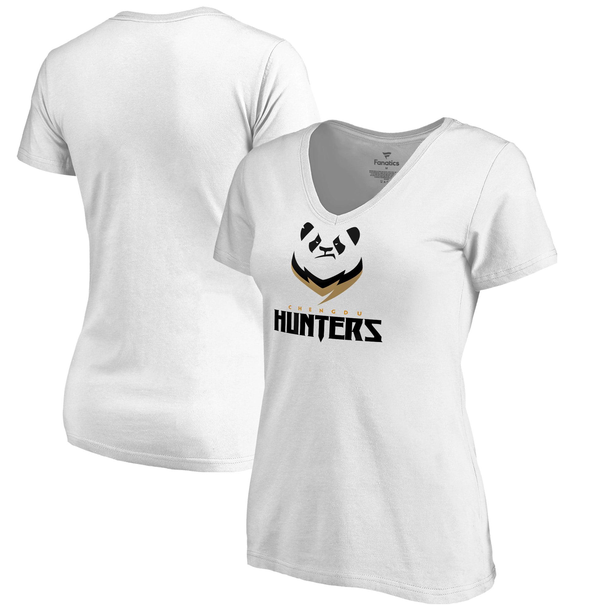 Chengdu Hunters Fanatics Branded Women's Team Identity V-Neck T-Shirt - White