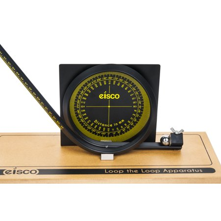 Eisco Deluxe Loop Apparatus with Scale - Potential to Kinetic Energy Demonstration- Approx. 21