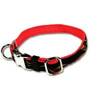 Strapworks AC-AL1-S 1 W inch Adjustable Artisan Line Dog Collar - Small