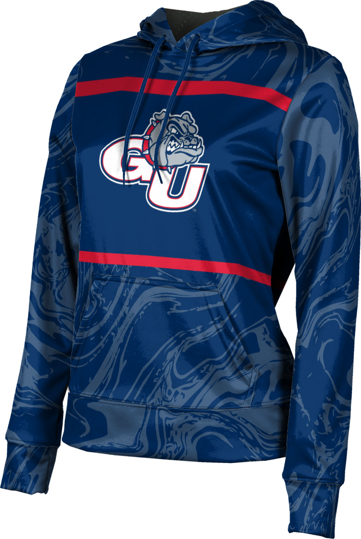 GU ProSphere Women/'s Gonzaga University Ripple Pullover Hoodie