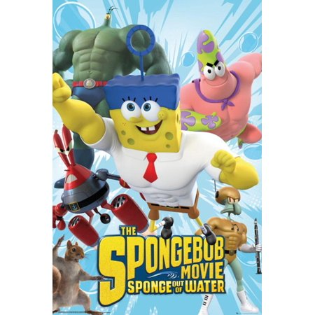 Spongebob Movie - Characters Poster - - Spongebob 24