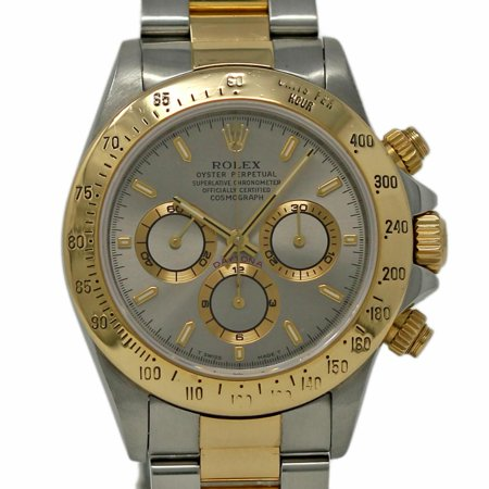 Pre-Owned Rolex Daytona 16523 Steel  Watch (Certified Authentic & Warranty) (Rolex Daytona)