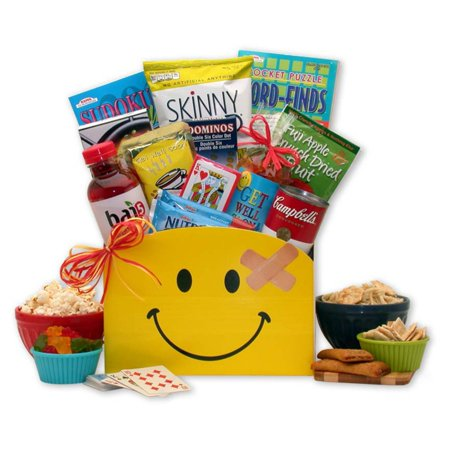 Gift Basket Drop Shipping Smiles Across Miles Get Well Gift Box