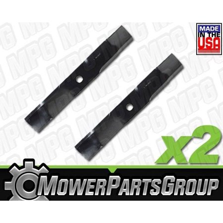 """D656 (2) Mulching Blades fits Murray 38"""" 56250E701 56250E701MA"""