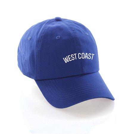 Daxton USA Cities Baseball Dad Hat Cap Cotton Unstructure Low Profile Strapback (Strapback Riemen)