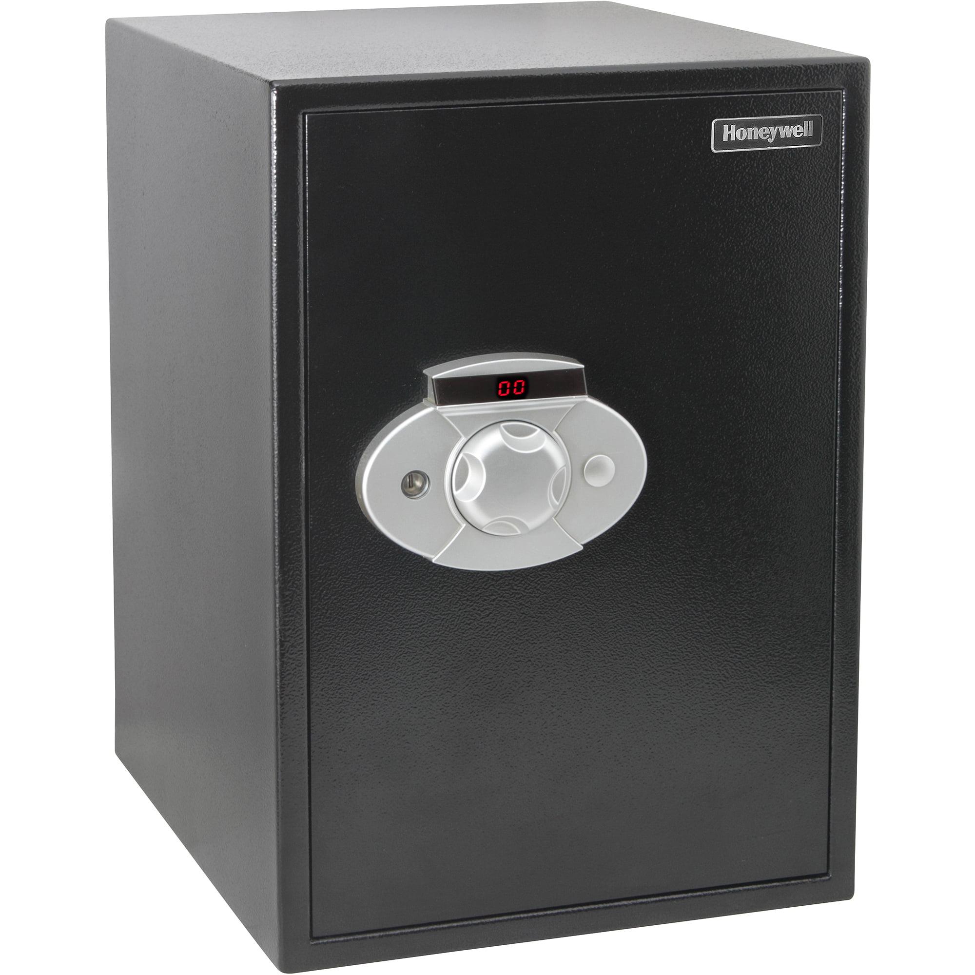 Honeywell 1 1 cu ft steel security safe 5105ds for 1 51 cu ft solid steel digital floor safe