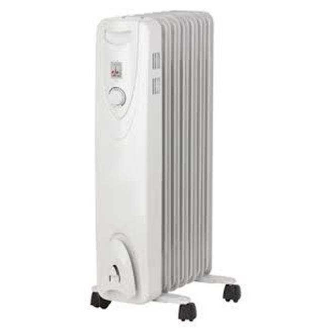 Optimus H6011 White Heater Portable Oil Filled Radiator