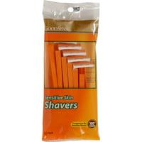 GoodSense Sensitive Skin Disposable Shaving Razors, 12 Ct
