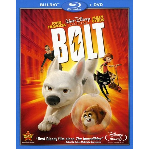 Bolt (Blu-ray   DVD) (Widescreen)