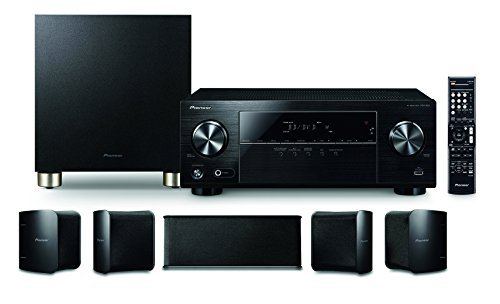 Pioneer HTP-074 5.1 Channel Home Theater Package, Black by Pioneer