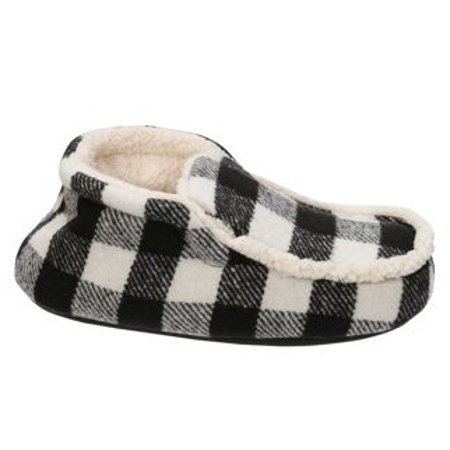 DF by Dearfoams Boys' Plaid Bootie Slippers for $<!---->