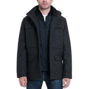 MICHAEL Michael Kors Mens Genoa Winter Quilted Wool Coat