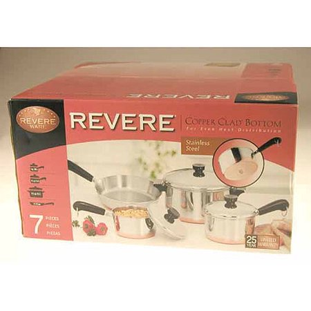 Revere Cookware World Kitchen Stainless Steel Copper Clad