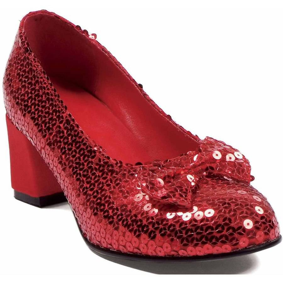 Judy Sequin Red Shoes Women's Adult Halloween Accessory