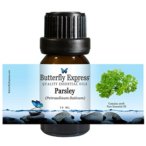 Parsley Essential Oil 10ml - 100% Pure - by Butterfly Express