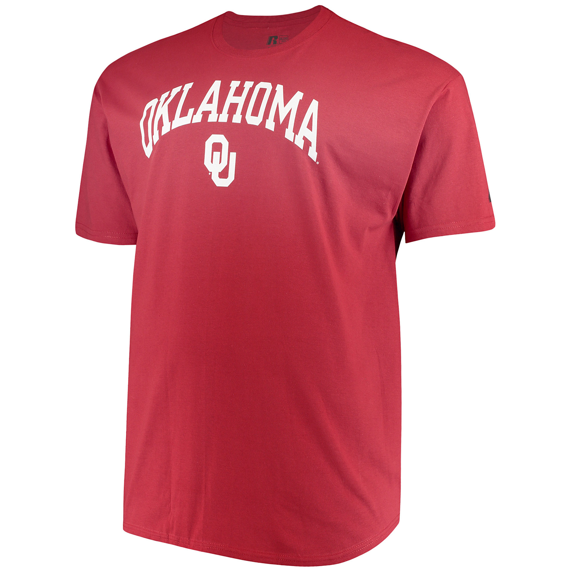 Men's Russell Cardinal Oklahoma Sooners Big & Tall Classic Crew Neck T-Shirt