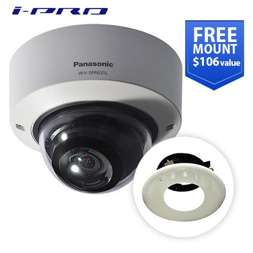"""Panasonic WV-SFR631L Indoor Vandal Dome 1080p"" by Panasonic BTS"