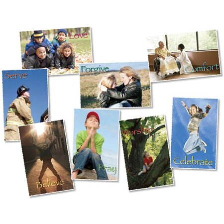 North Star Teacher Resource NST3104BN Faith in Action Poster Bulletin Board Set - Set of 2 - image 1 of 1