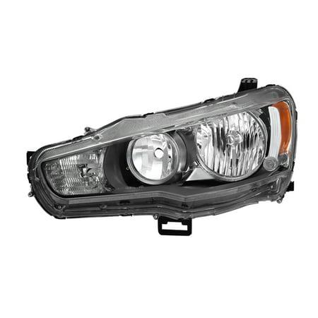 Lanzar Driver (xTune Mitsubishi Lancer 08-15 Driver Side Headlights - OEM Left)