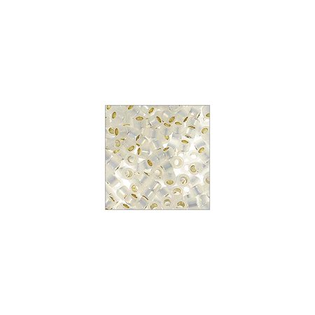 Miyuki Delica Seed Bead 11/0 Silver Lined Opal (36 (Opal Gemstone Chip Beads)