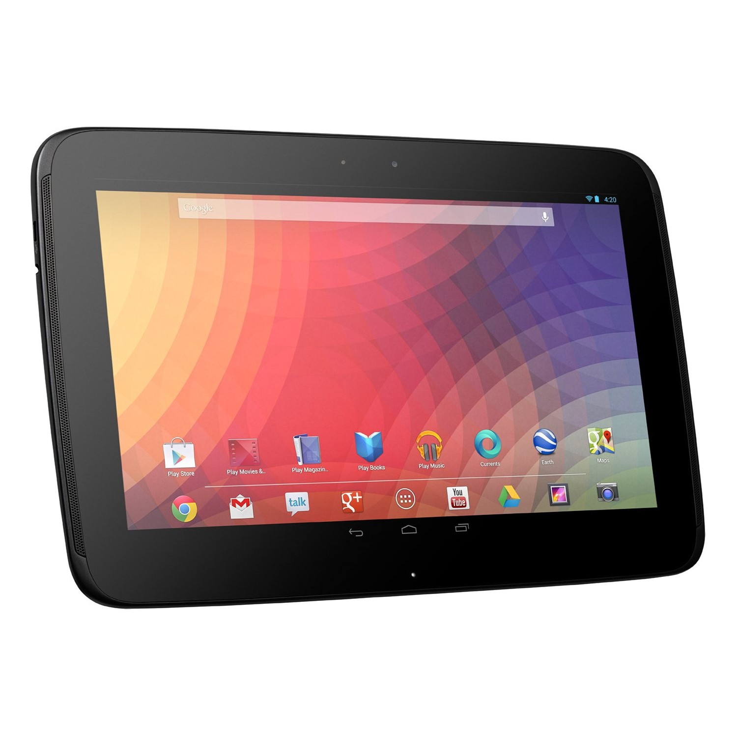 "Google Nexus 10"" Tablet with 32GB Memory - (Refurbished)"