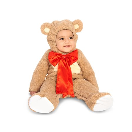 Teddy Bear Infant Costume - Size Infant 6-12 - Infant Bear Costumes