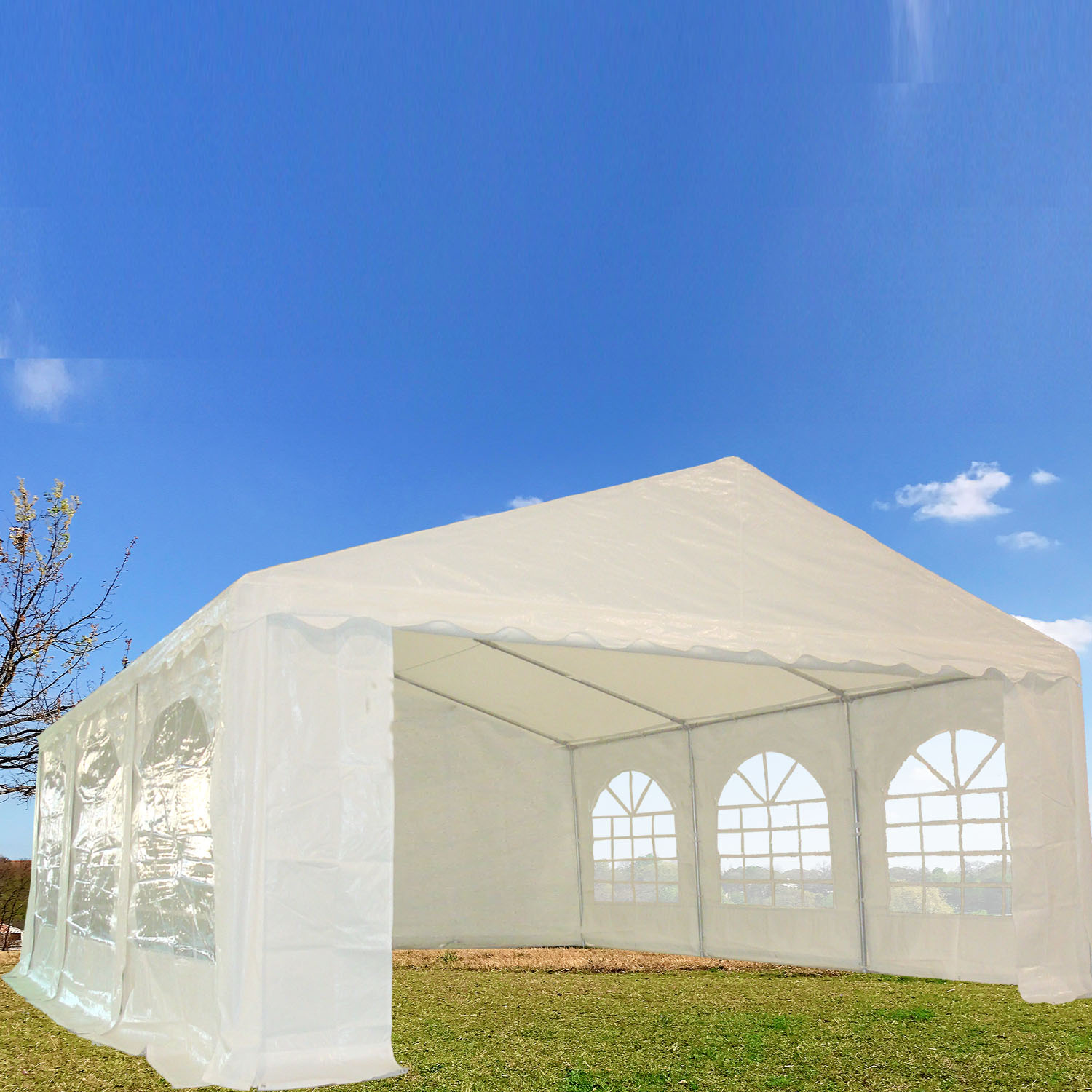20'x16' PE Party Tent Wedding Canopy Shelter - By DELTA Canopies