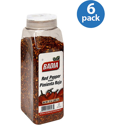Badia Red Pepper, 12 oz (Pack of 6)