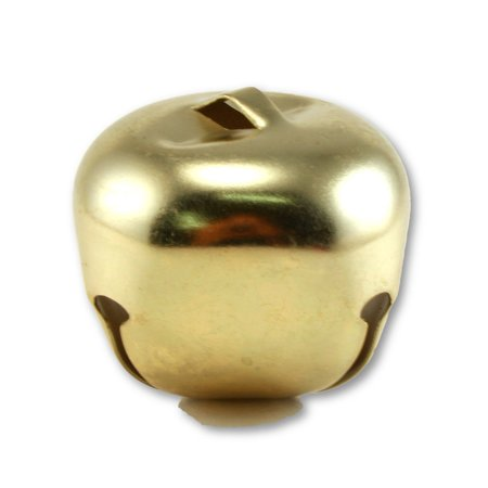 2 Inch 51mm Extra Large Giant Jumbo Craft Gold Jingle Bells Bulk 12 Pieces (Giant Jingle Bell)