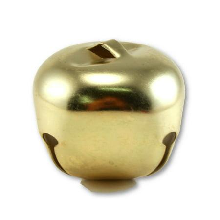 2 Inch 51mm Extra Large Giant Jumbo Craft Gold Jingle Bells Bulk 12 Pieces