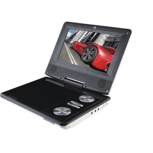 "Proscan PDVD7040B-BLACK 7"" Portable DVD Player - Refurbished"
