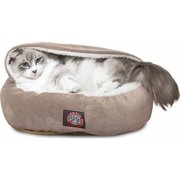 """Majestic Pet Products 18"""" Suede Canopy Bed"""