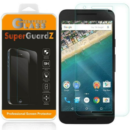[2-Pack] For LG (Google) Nexus 5X - SuperGuardZ Tempered Glass Screen Protector, 9H, Anti-Scratch, Anti-Bubble, Anti-Fingerprint (Google Nexus 9 Screen Protector)