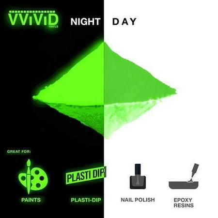 Pigment Powder Glow In The Dark | Long Lasting Craft Green Pigment Powder 1oz | Prisma65 Green Glow In The Dark by VViViD](Glow In The Dark Green)